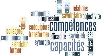 Nuage mots competences